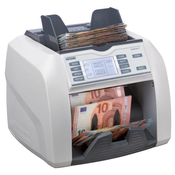 Compteuse et détecteur de billets T275 Ratiotec