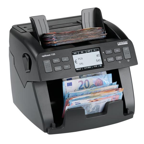 Compteuse et détecteur de billets T575