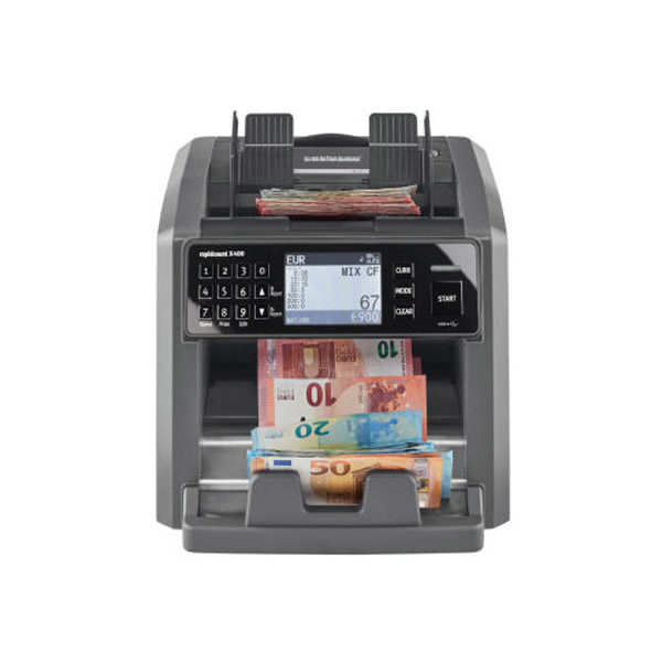 Compteuse et détecteur de billets X 400 Ratiotec
