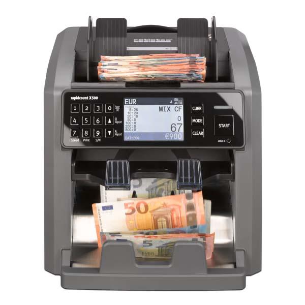 Compteuse et détecteur de billets X 500 Ratiotec